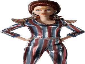 Bowie doll by Mattel